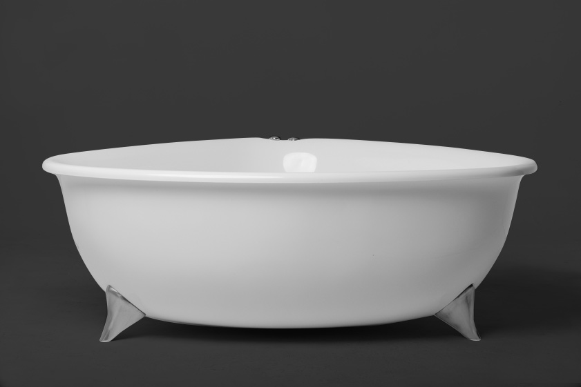 Cassie 1745 Corner Freestanding Bath on Legs