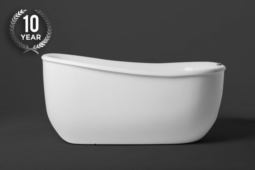 The Tivoli 1500 Freestanding Slipper Shapped Spa Bath
