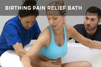 birthing pain relief bath